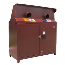 BearSaver - CE Series Double Recycling Enclosure, ADA Compliant  - CE232-RR