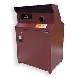BearSaver - CE Series Double Trash/Recycling Enclosure, ADA Compliant - CE240-CHR