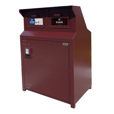 BearSaver - CE Series Double Trash Enclosure, ADA Compliant - CE240-CH