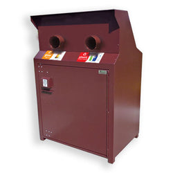 BearSaver - CE Series Double Recycling Enclosure, ADA Compliant - CE240-RR