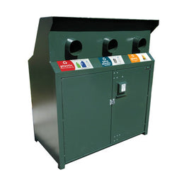 BearSaver - CE Series Triple Recycling Enclosure, ADA Compliant - CE340-RRR