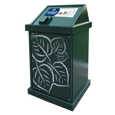 BearSaver - HA Series Single Recycle W/Custom Laser Cut Panels, ADA Compliant  - HA-PHY