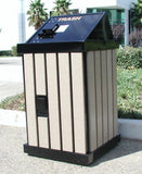 BearSaver - HA Series Single Trash Enclosure, ADA Compliant  - HA-P