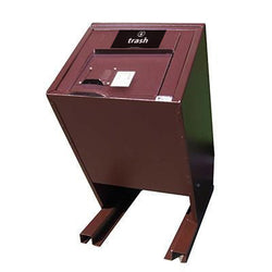 BearSaver - Hid-A-Bag Single Trash Enclosure, ADA Compliant, 70 gal - HB1-UP