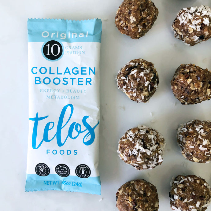 Collagen Almond Joy Energy Bites