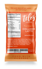 Collagen Coffee Latte - Turmeric (8 packets)