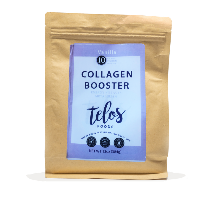 Collagen Booster - Vanilla (16 Servings Bulk)