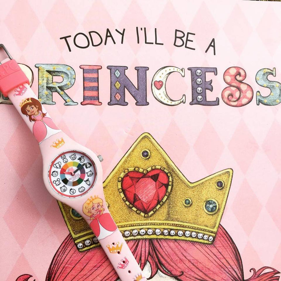 Princess Silicone Preschool Watch