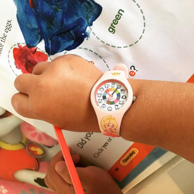 Princess Preschool Watch - Toddler & Kids Time Teaching Watch - Wrist - Preschool Collection
