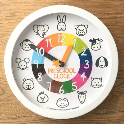 DONATE a Preschool Wall Clock to a Preschool