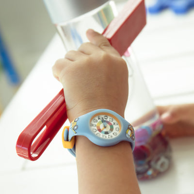 Truck Silicone Preschool Watch - Toddler & Kids Time Teaching Watch - Wrist - Preschool Collection