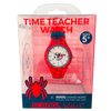 Spiderman Silicone School Watch Packaging - Children Kids Time Teacher watch - Preschool Collection