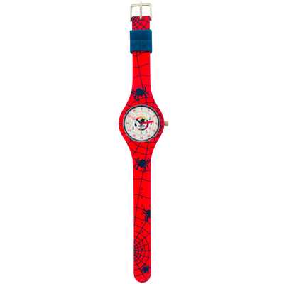 Spiderman Silicone School Watch Flat - Children Kids Time Teacher watch - Preschool Collection