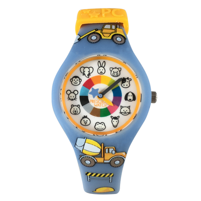 Truck Silicone Preschool Watch - Toddler & Kids Time Teaching Watch - Preschool Collection