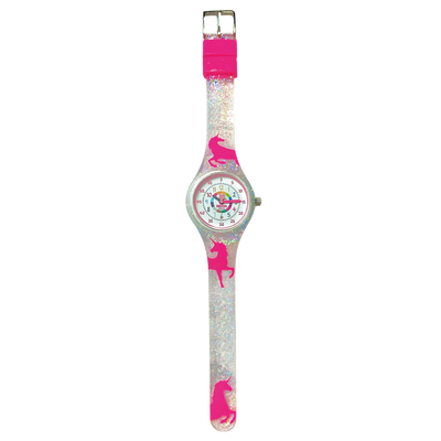 Unicorn Silicone School Watch Flat - Children Kids Time Teacher watch - Preschool Collection