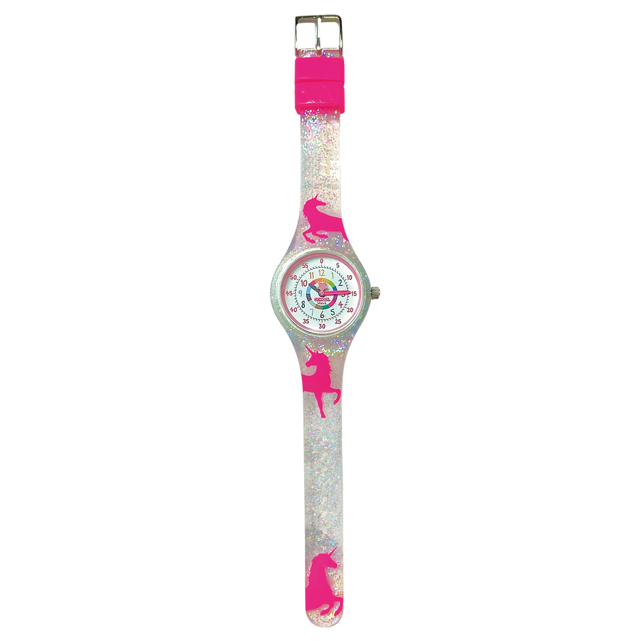 Unicorn Silicone School Watch - Children Kids Time Teacher watch - Preschool Collection