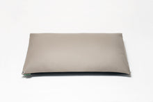 Black/Grey Two-Tone Pillow Cover