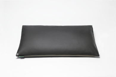 Classic Black/Stone Grey 2-Tone Pillow Cover