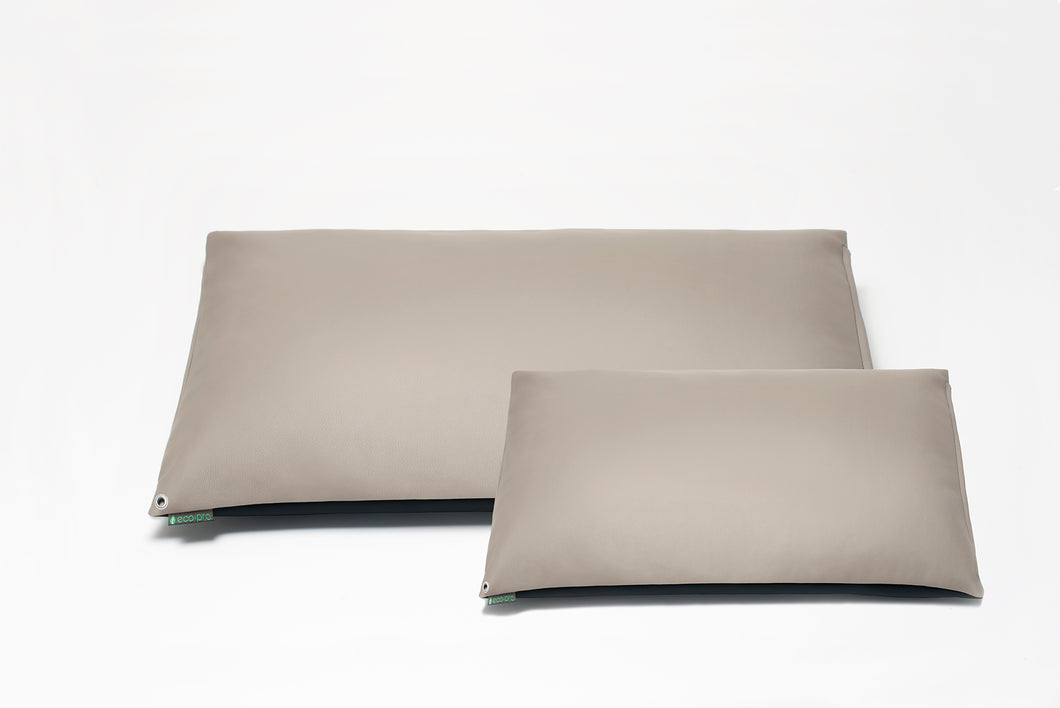 Stone Grey MINI Pillow Cover with Insert