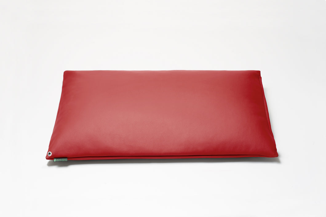 Candy Apple Red Pillow Cover