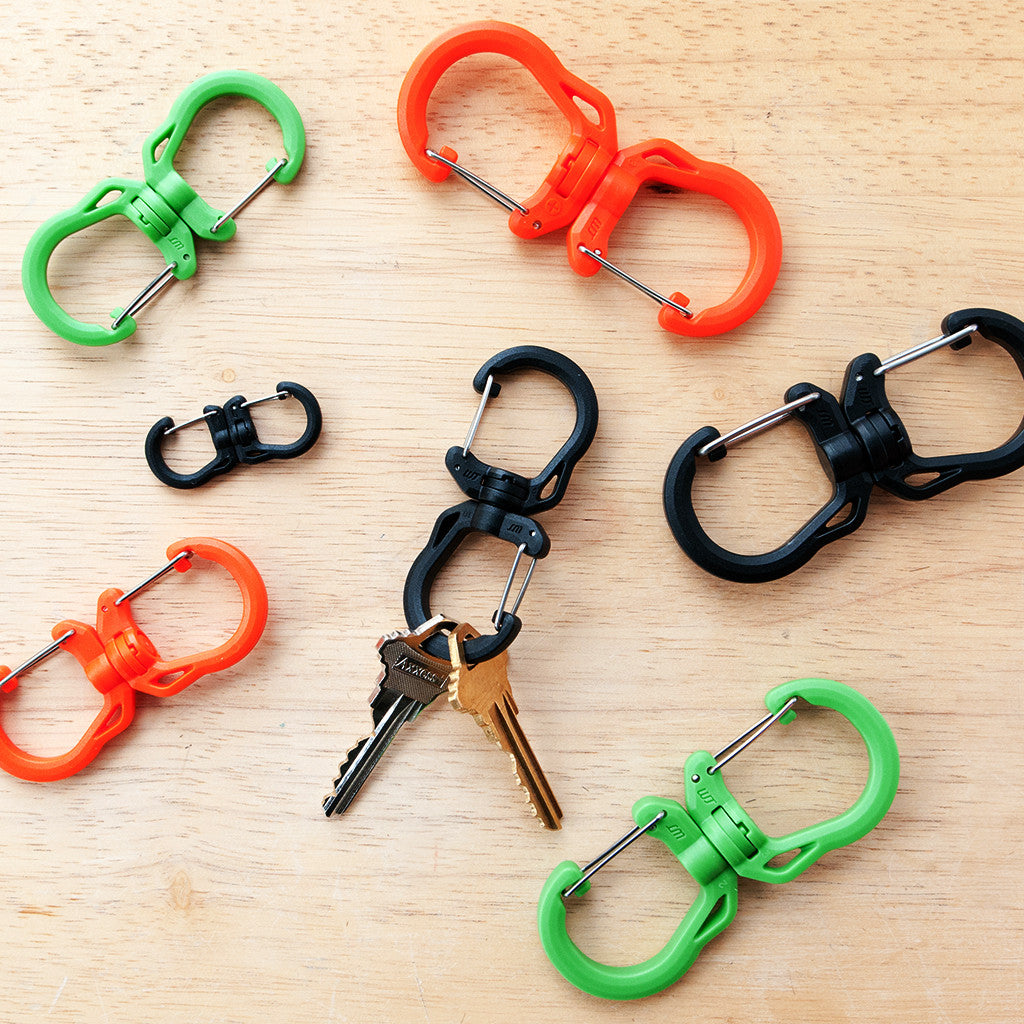 Swivel Clip Small (Orange)
