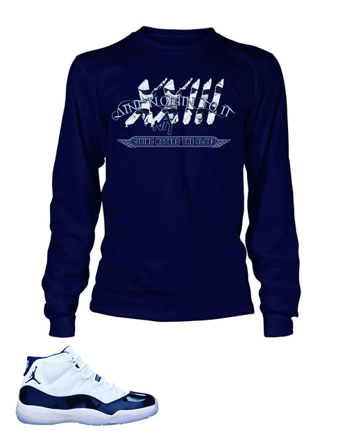 Graphic T Shirt to Match Retro Air Jordan 11 Shoe