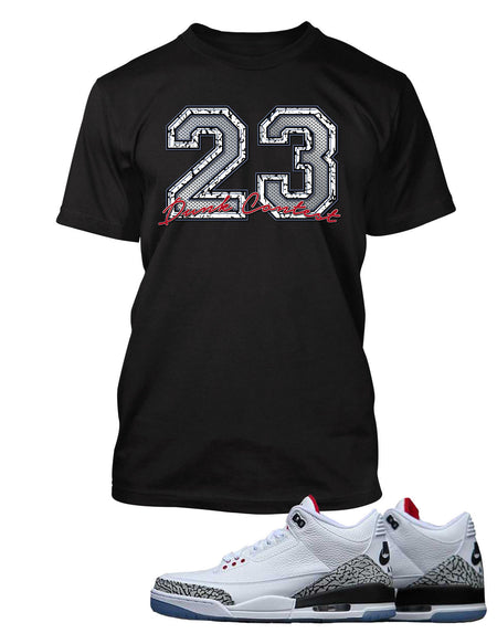 New MVP Graphic T Shirt to Match Retro Air Jordan 1 High Flynit BHM Shoe