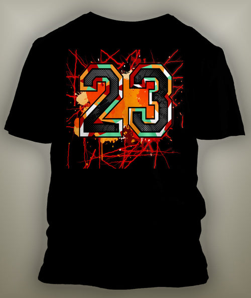 T Shirt To Match Retro Air Jordan 7 Hare - Just Sneaker Tees - 2