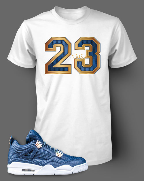 Custom T Shirt To Match Air Jordan 4 Obsidian Shoe - Just Sneaker Tees - 2