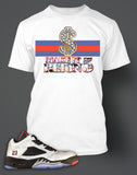 T Shirt To Match Retro Air Jordan 5 Low Neymar Shoe