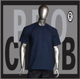 SHORT SLEEVE TEE  CREW NECK COMFORT (DARK NAVY) - Just Sneaker Tees - 1
