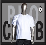 SHORT SLEEVE TEE CREW NECK Pro Club COMFORT (Snow White) - Just Sneaker Tees
