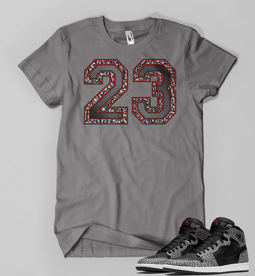 T Shirt To Match Retro Air Jordan 1 High Elephant Print - Just Sneaker Tees - 1