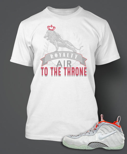 T Shirt To Match Pure Platium Yeezy Foamposite - Just Sneaker Tees