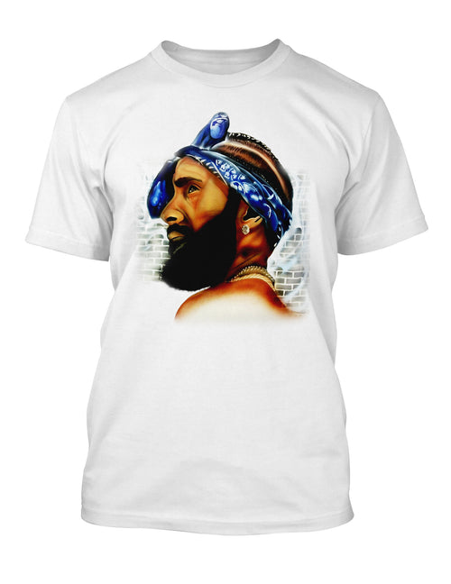 Nipsey Hussle Graphic Tee Shirt Graphic Hip Hop Tribute T Big and Tall or Small