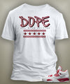 Dope T Shirt To Match Retro Air Jordan 5 Alternate Shoe