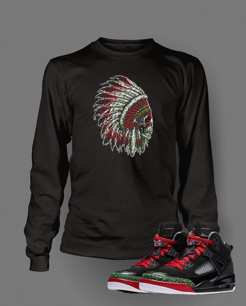 New Chieftain Graphic T Shirt to Match Retro Air Jordan Spizike Shoe