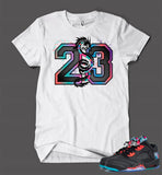 T Shirt To Match Retro Air Jordan 5 Chinese New Year Shoe