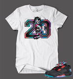 T Shirt To Match Retro Air Jordan 5 Shoe Chinese New Year Low Top - Just Sneaker Tees