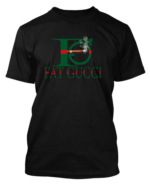 New Fat Gucci Smoking Custom Graphic T Shirt