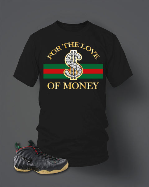 T Shirt To Match Foamposite Gucci - Just Sneaker Tees - 1