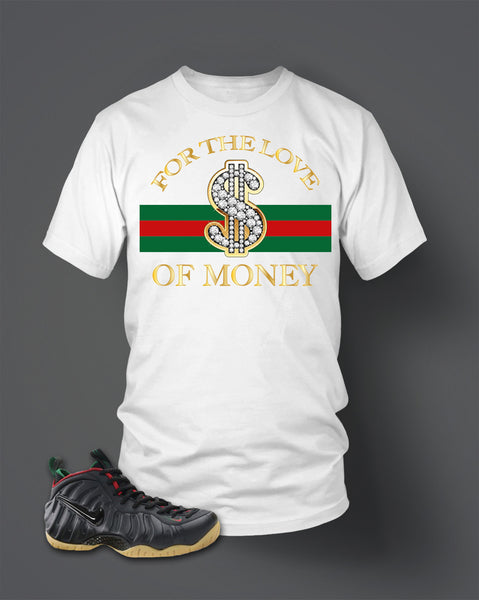 T Shirt To Match Foamposite Gucci - Just Sneaker Tees - 2