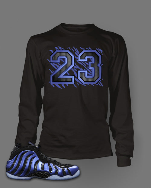 Long Sleeve T Shirt To Match Sharpie Foamposite Shoe - Just Sneaker Tees - 1