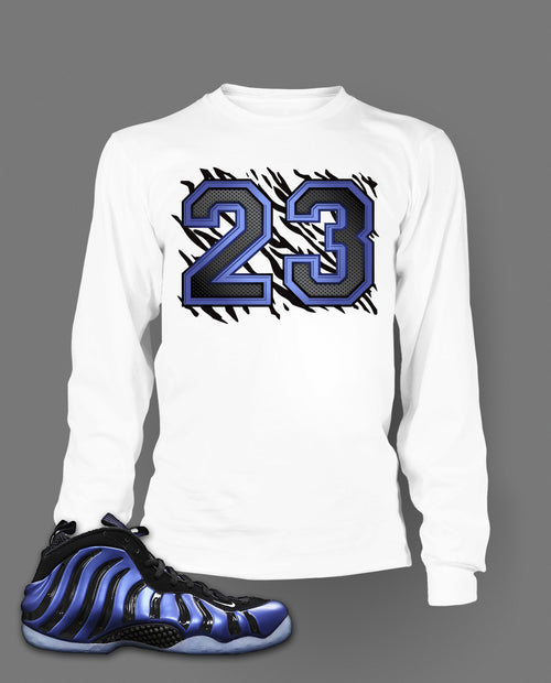 Long Sleeve T Shirt To Match Sharpie Foamposite Shoe - Just Sneaker Tees - 2