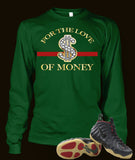 Long Sleeve T Shirt To Match Gucci Black Foamposite Shoe - Just Sneaker Tees - 3