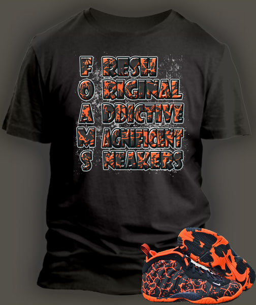 T Shirt To Match Foamposite Magma - Just Sneaker Tees - 2