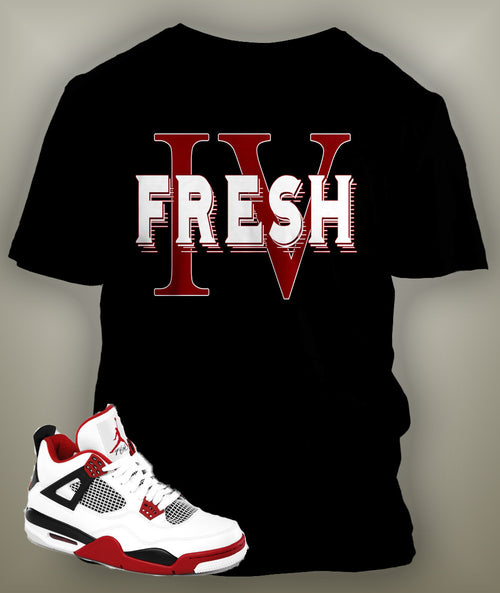T Shirt To Match Retro Air Jordan 4 - Just Sneaker Tees - 1