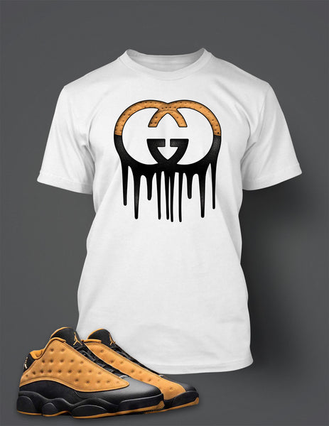 Graphic T Shirt to Match Retro Air Jordan 13 Low Chutney Shoe