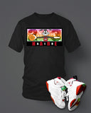 T-shirt To match Hare Air Retro Jordan 7 Black