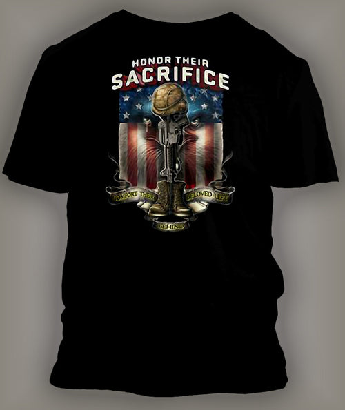 Honor Their Sacrifice Classic Graphic T Shirt